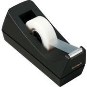 "Scotch® Classic Desktop Tape Dispenser, Black, 1"" Core, Made From 100% Recycled Plastic, 1 Dispenser"