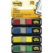 Post-it® - Languettes, 1/2 po, couleurs variées, paq./140
