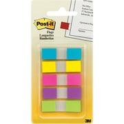 Post-it® - Languettes, 1/2 po, couleurs vives, paq./100