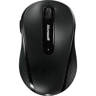 Microsoft USB Wireless Mobile Mouse 4000, Black (4FD-00025)