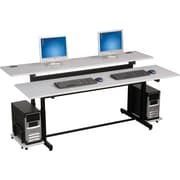 Balt® Split-Level Workstation, 72 Desk