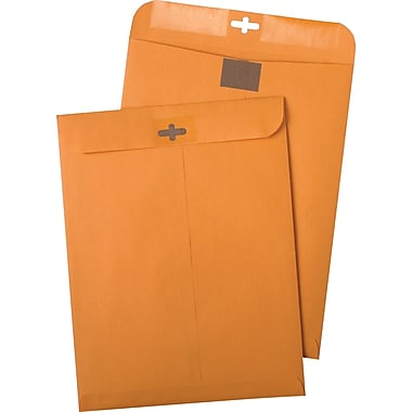 Quality Park® Clear-Clasp™ 9in. x 12in. Catalog Envelopes, 100/Box