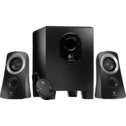 Logitech Z313 25W Multimedia Speakers and Subwoofer for Multiple Devices, Black (980-000382)