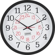 "Staples Round Wall 14"" Clock (18379)"