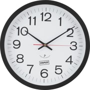 "Staples 14"" Round Atomic Wall Clock (18383)"