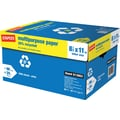 Staples® 30% Recycled Multipurpose Paper, 8 1/2in. x 11in., Case