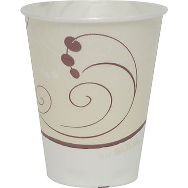 SOLO Trophy Symphony Foam Hot/Cold Cups, 10 oz., 50/Pack