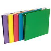 Staples® Bright Colored Hanging File Folders, 5-Tab, Letter, Assorted Colors, 25/Box (875411)