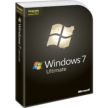 Microsoft Windows 7 Ultimate (Upgrade Version) [Boxed]