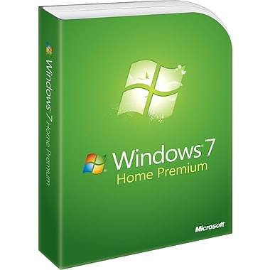 Microsoft Windows 7 Home Premium (Full Version) [Boxed]