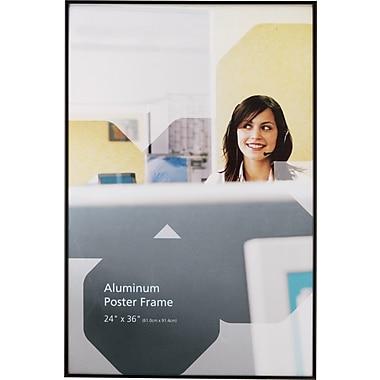 Staples® Aluminum Poster Frame, 24in. x 36in.