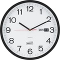Staples 12.5in. Round Clock