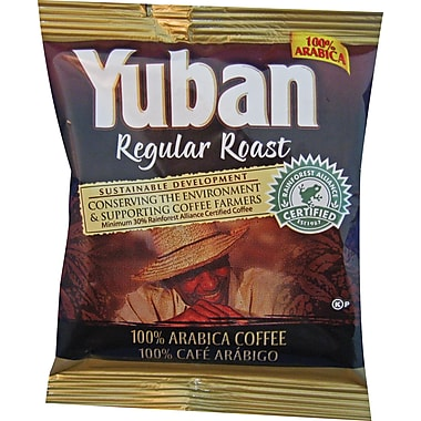 Yuban® 100% Arabica Roast Ground Coffee, Regular, 1.2 oz., 42 Packets