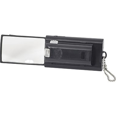 Merangue Retractable Magnifier with Light