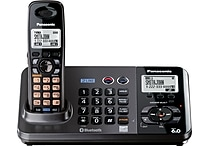 Panasonic KX-TG9381T DECT 6.0 2-Line Cordless Telephone with Digital Answering System