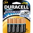 Duracell Ultra AA Alkaline Batteries, 8/Pack