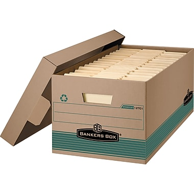Bankers Box® Stor/File™ Medium-Duty Storage Boxes, Letter Size