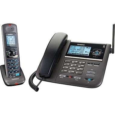 Uniden 4096 DECT 6.0 2-Line Corded/Cordless Telephone with Digital Answering System