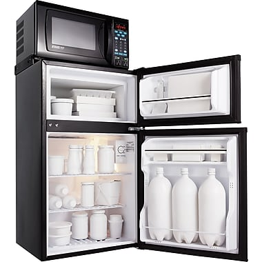 MicroFridge® 2.9 CU.FT. Refrigerator/Freezer & Microwave Combination, Black