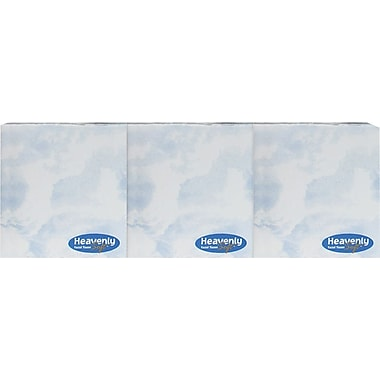 Heavenly Soft® Facial Tissues, Cube Box, 2-Ply, 3/Pack