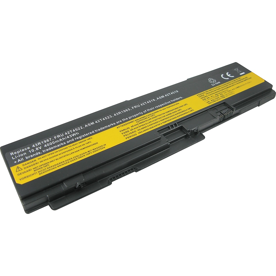 Lenmar Replacement Battery for IBM ThinkPad Series Laptop Computers (LBIX301)