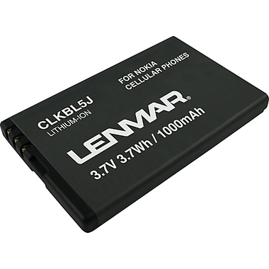 Lenmar Replacement Battery for Nokia 5800 XpressMusic,5802 XpressMusic Cellular Phones