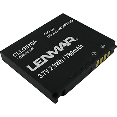 Lenmar Replacement Battery for LG Cookie KP500, KP501 Cellular Phones