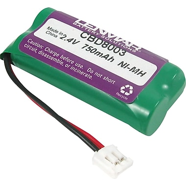 Lenmar Replacement Battery for AT&T and V-Tech Cordless Phones (CBD8003)
