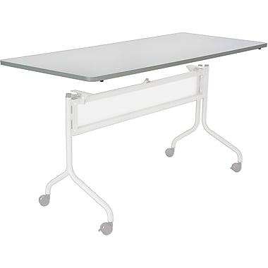 Safco® Impromptu™ 6' Mobile Training Table, Gray