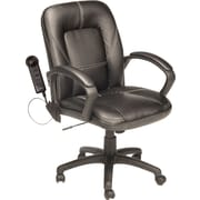 Comfort® Black Faux 3-Motor Leather Massage Chair