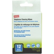 Staples Anti Static Phone Wipes, 12/Pack (18244-CC)