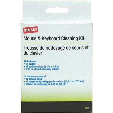 Staples® Mouse & Keyboard Cleaning Kit
