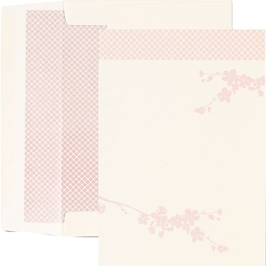 Great Papers® Pink Cherry Blossoms Flat Card Invitations with Envelopes