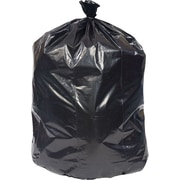Brighton Professional Linear Low-Density Trash Bags, Black, 56gal, 100 Bags/Box (18194)