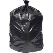 Brighton Professional™ X-Heavy Recycled Content Trash Bags, Black, 33 Gallon, 150 Bags/Box