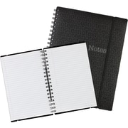 Staples® Notes Notebooks with Elastic Strap, 200 Pages