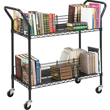 Safco® Wire Book Cart