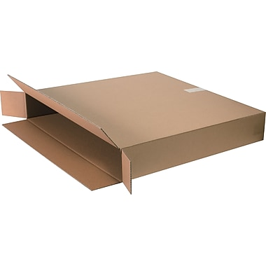 30in.(L) x 5in.(W) x 30in.(H) - Staples® Corrugated Shipping Boxes, 10/Bundle