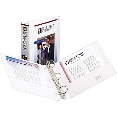 2in. Avery® Showcase View Binders with Round-Rings