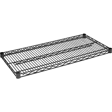 Staples® Wire Shelving Extra Shelves, 48in. x 18in., 2/Pack