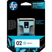 HP 02 Light Cyan Ink Cartridge (C8774WN)