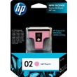 HP 02 Light Magenta Ink Cartridge (C8775WN)