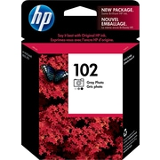 HP 102 Gray Photo Ink Cartridge (C9360AM)