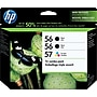 Hp 56/56/57 Black And Tricolor Ink Cartridges (cd944fn),