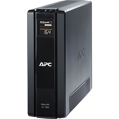 APC Back-UPS® XS 1500VA 10-Outlet Power-Saving UPS