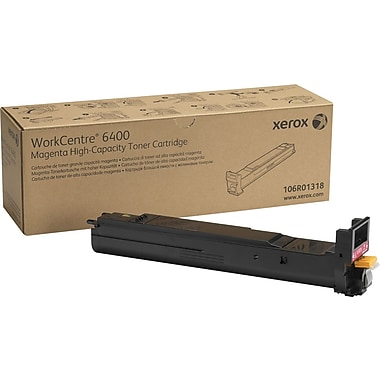 Xerox® 106R01318 Magenta Toner Cartridge, High Yield
