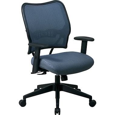 SPACE® VeraFlex™ Mesh Deluxe Chair, Blue Mist