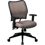 SPACE® VeraFlex™ Mesh Deluxe Manager's Chair, Latte