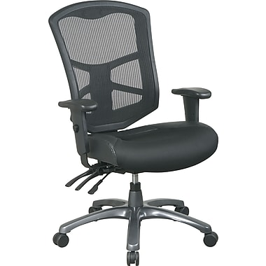 Office Star™ Pro-Grid Titanium- Finish Manager's Chair