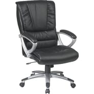 Office Star™ Work Smart Bonded Leather Executive 1 High-Back Chairs